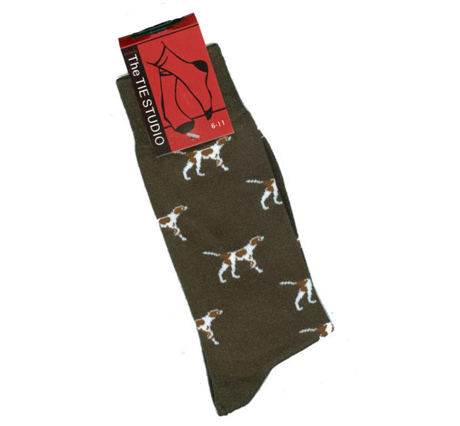 Pointer Dog Socks