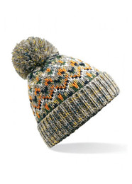 Blizzard beanie hat with pom pom
