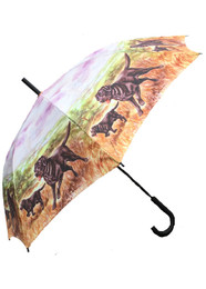 Black Labrador Themed Umbrella