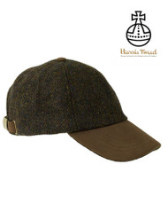 Glencairn Harris Tweed Baseball Cap