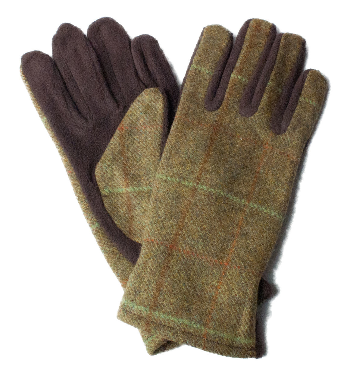 Womens tweed Gloves