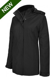 Ladies Parka Jacket - Black