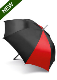 KiMood Golf  Umbrella - Black/Red