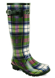 Tartan Wellies for Ladies