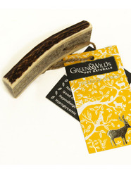Antler Dog Chew made from recycled materials