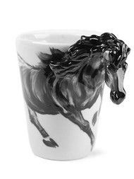 Black Horse Coffee Mug