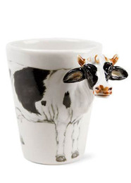 Blue Witch Cow Coffee Mug