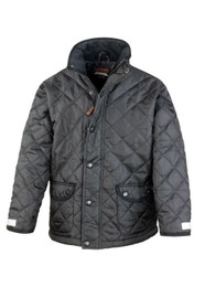 Cheltenham Quilted Jacket (Black)