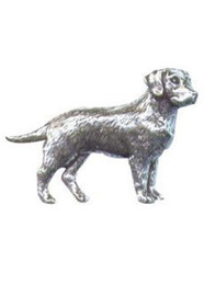 Labrador Pewter Pin