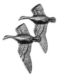 Flying Geese Pewter Pin