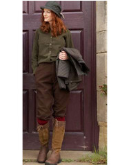 Sherwood Forest Ladies Moleskin Breeks