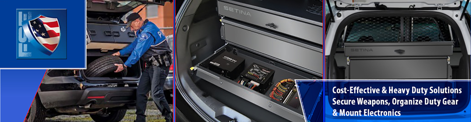 SUV Storage and Organizers for Weapons and Cargo