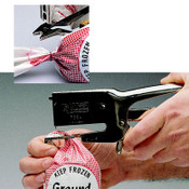 Hand-Held Bag Stapler (Clipper)