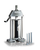 FDick 9050900-9 ltr/18 lb Capacity Stainless Steel Sausage Stuffer/Filler F Dick