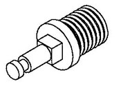 Hobart H521 - Worm Feed Screw Stud - Hobart 4046,4332,4532