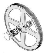 Biro Saws - Upper Wheel & Bearing Assembly - All Models