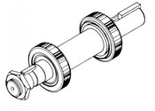 Biro Saw - Lower Shaft & Bearing Assembly - All Models