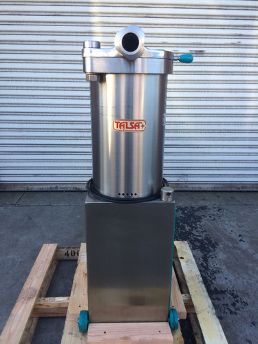 Refurbished talsa h26s stainless steel hydraulic sausage stuffer image 1 sciox Image collections