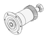 Globe Knife Plate Hub Assembly - GS188A