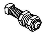 Butcher Boy B12,B14,B16 & SA16 - Measuring Arm Lock Stud - BB061-63B