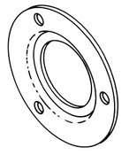 Butcher Boy Upper Wheel Bearing Retainer - BB077-41A