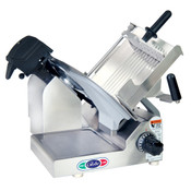 "Globe 3600N 13"" Heavy Duty Manual Gravity Feed Slicer - 1/2 HP"