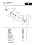 TorRey M-32 3 Phase & M-32 Single Phase - Meat Grinder Parts List