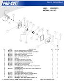 ProCut KG-12FS - Meat Grinder Parts List
