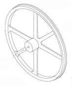 Butcher Boy SA30 - Lower Wheel - 30011