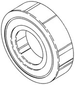 Butcher Boy SA30 & SA36 - Upper Main Bearing - 90306 - BB156