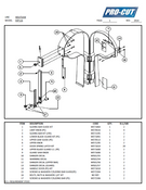 ProCut KSP-116 Meat Bandsaw Parts List