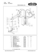 TorRey ST-295PE Meat Bandsaw Parts List