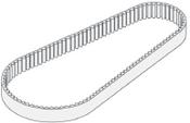 Bizerba Slicer - Drive Belt - SE12 - BZ068