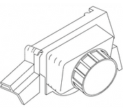 Bizerba Slicer - Sharpener Assembly - SE12,SE12D - BZ092A