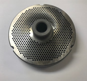 "#52 Meat Grinder Plate with 7/64'' Holes - ""Hub Plate"""