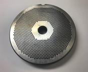 "#56 Meat Grinder Plate with 3/32'' Holes - ""Reversible Plate"""