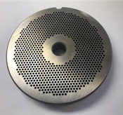 "#56 Meat Grinder Plate with 7/64'' Holes - ""Reversible Plate"""