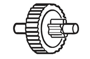 F.Dick -- Double Spur Gear--  18lb, 24lb, & 30lb. Models - 905102351