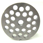 #12 Meat Grinder Plate with 3/8'' Holes