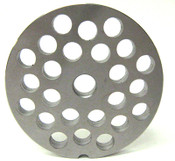 #32 Meat Plate with 3/8'' Holes