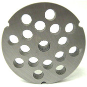 #32 Meat Grinder Plate with 1/2'' Holes