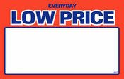 Price Card - Everyday Low Price 3.5'' x 5.5''