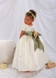 Couture Special Occasion Dress K200 | White Flower Girl Dress