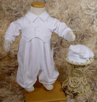Little Things Mean A Lot - Boys Christening Suit