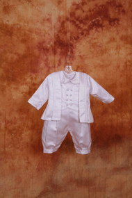 Sweetie Pie Christening Suit - Boys Christening Suit - ALL SILK - SWCI346B