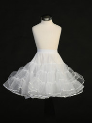 Crinoline Slip For Girls | Flower Girl Petticoat Slips