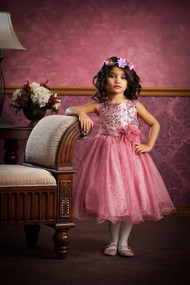 Kids Dream | Girl Sequin Dress | Pink Sequin Dress