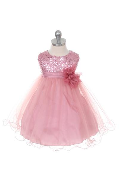 Kids Dream Infant Party Dress   Infant Sequin Dress