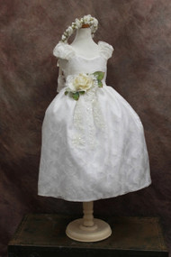 Communion Silk Organza Dress | Girls Special Occasion Dress