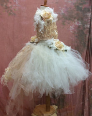 Flower Girl Tutu Dress | Wedding Flower Girl Tutu | Girls Tutu